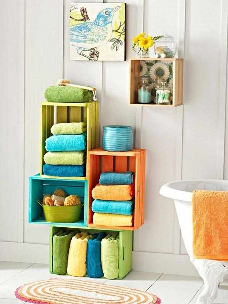 20+ Creative Bathroom Towel Storage Ideas