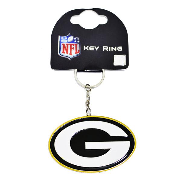 NFL Green BAY Packers Crest Keyring KEY Ring Keychain  eBay