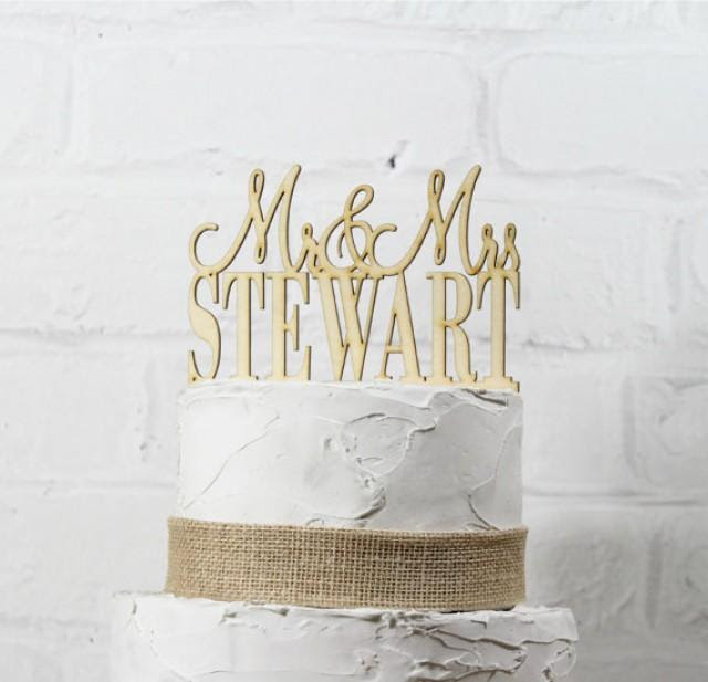 rustic custom topper and sign mr or  and rustic mr sign   mrs wedding topper cake mrs