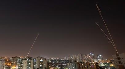 В Израиле заявили ещё о пяти выпущенных из сектора Газа ракетах