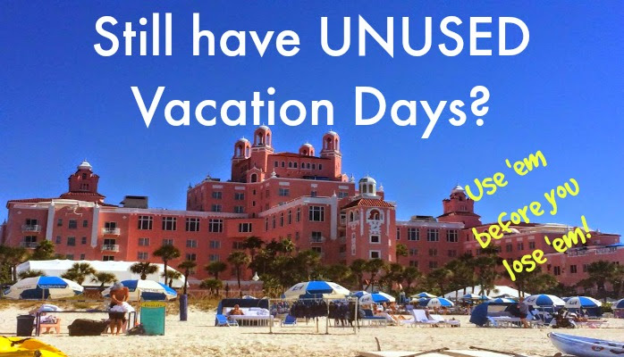 3 Ways to Use Your Vacation Days