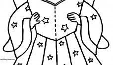 Yıldız Peri Boyama Sayfası