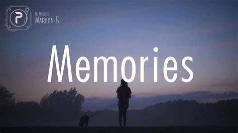maroon  memories lyrics chords chordify