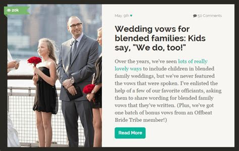 Sweet wedding vows that include mating penguins and Broad