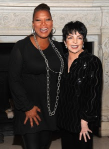 Queen Latifah and Liza Minnelli attend the PAPER Magazine & HP 25th Anniversary Gala at The New York Public Library on September 8, 2009 in New York City