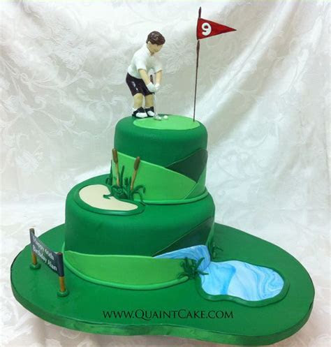 Golf Cakes on Pinterest   Golf, Groom Cake and Golf Bags