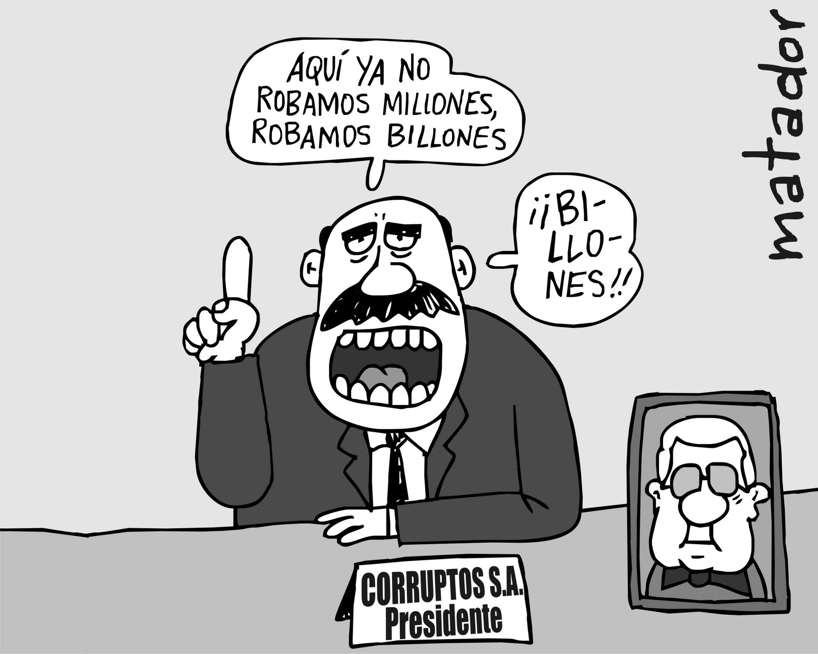 Caricaturas Contra La Corrupción En Colombia Renovación Sindical