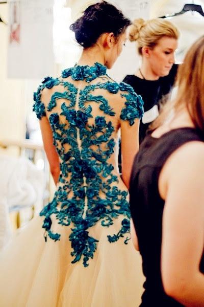 Blue Wedding Dress {Details} | Austin Wedding Blog