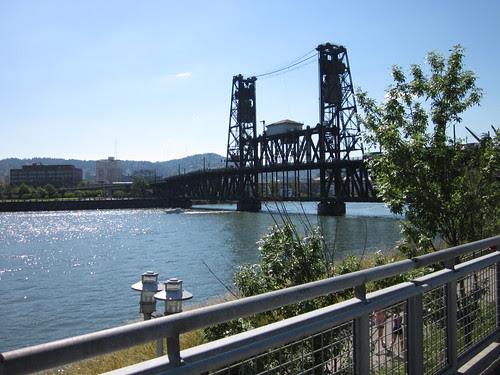 Steel Bridge from the Esplanade
