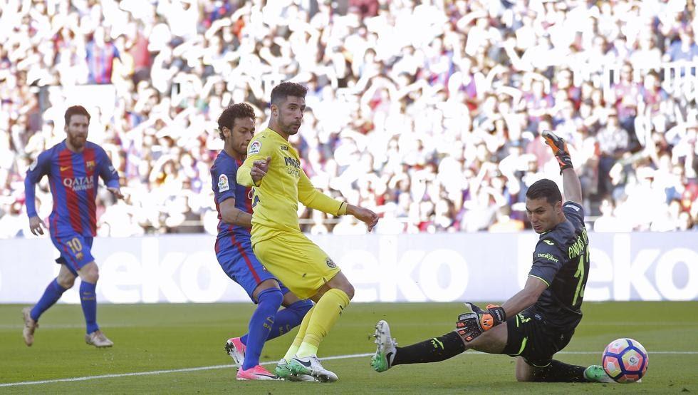 Fc barcelona vs villareal highlights fc barcelona 4 villareal 1 all about fc barcelona - Villarreal fc league table ...