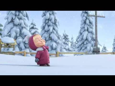 Кадр из мультфильма «Маша и Медведь : Следы невиданных зверей (серия 6)»