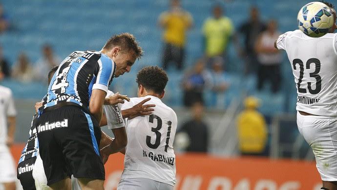 Bressan Grêmio x Santos (Foto: Lucas Uebel/Divulgação Grêmio)