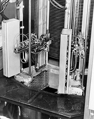 Inside a 5MB hard drive in 1956