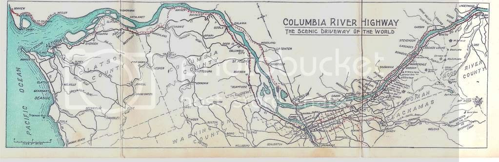 Columbia River Highway 1928