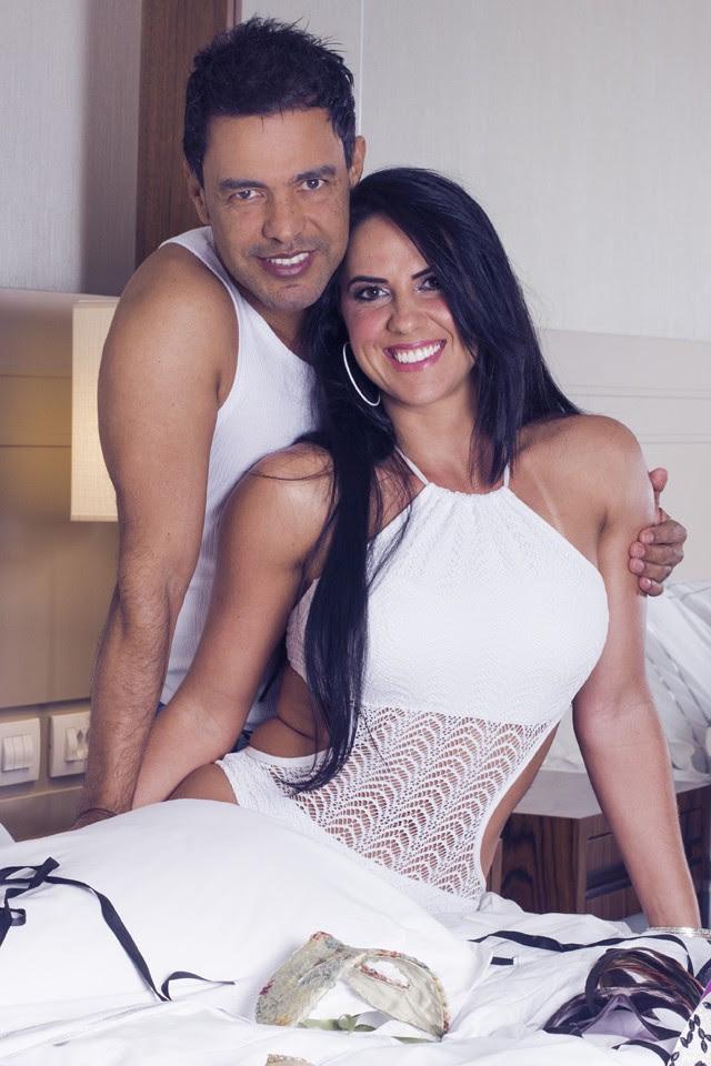 Zezé e Graciele (Foto: Foto: Jorge Badaue)