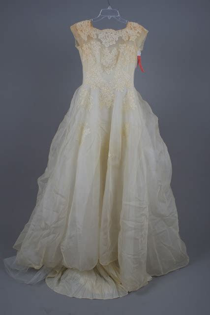 Bridal Gown Cleaning & Preservation: Follow a 50 year old