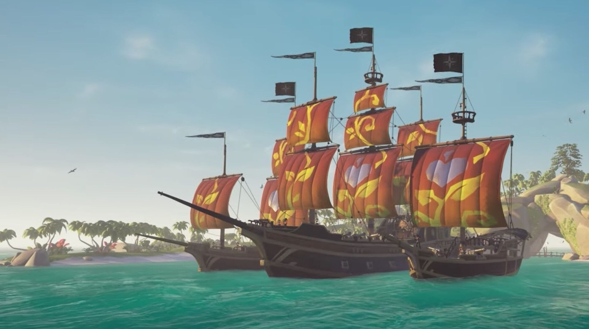 Sea of Thieves' latest charity sails are raising money for No Kid Hungry