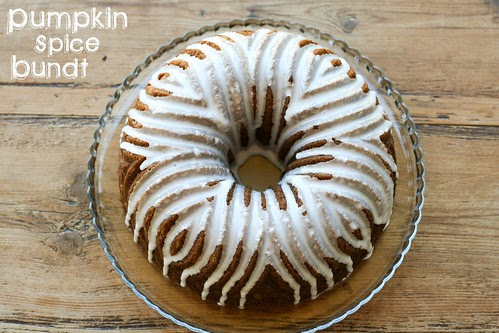 Pumpkin Spice Bundt - I Like Big Bundts 2011