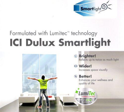 ICI Dulux Smartlight with Lumitec Technology