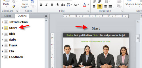 Articulate Rapid E-Learning Blog - slide master titles in PowerPoint