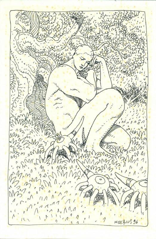 Moebius (Jean Giraud) - Original drawing Comic Art