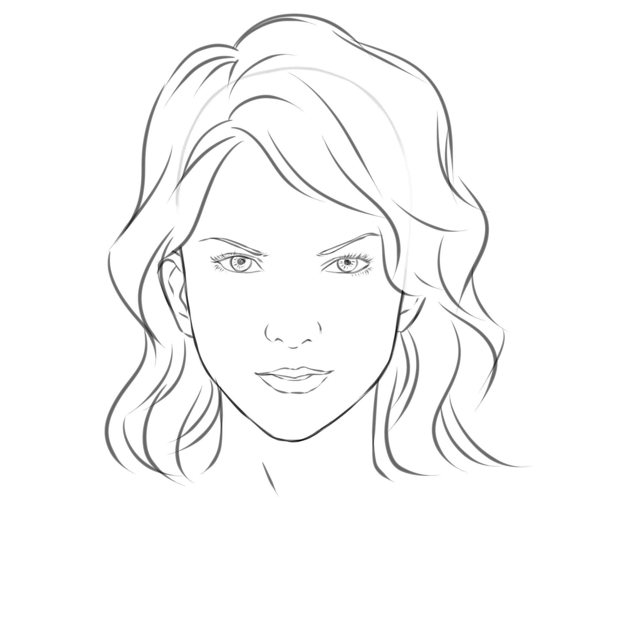 Free Easy Girl Drawing Download Free Clip Art Free Clip Art On Clipart Library