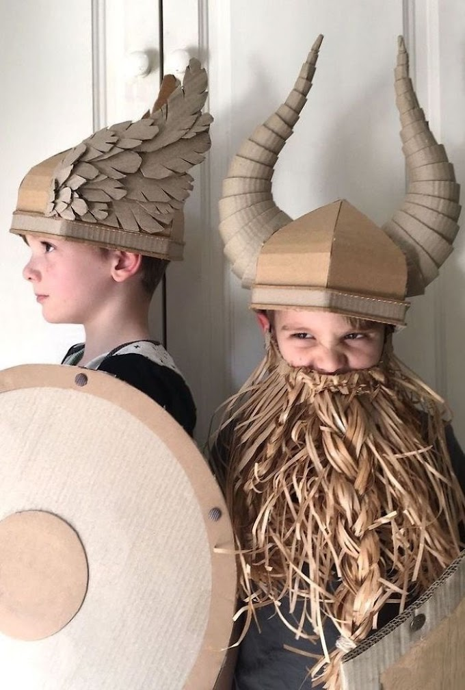 My twenty Custom Costumes made up of Cardboard Boxes