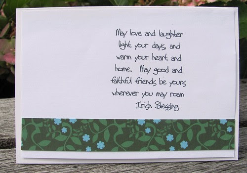 Inside ~ Irish Blessing