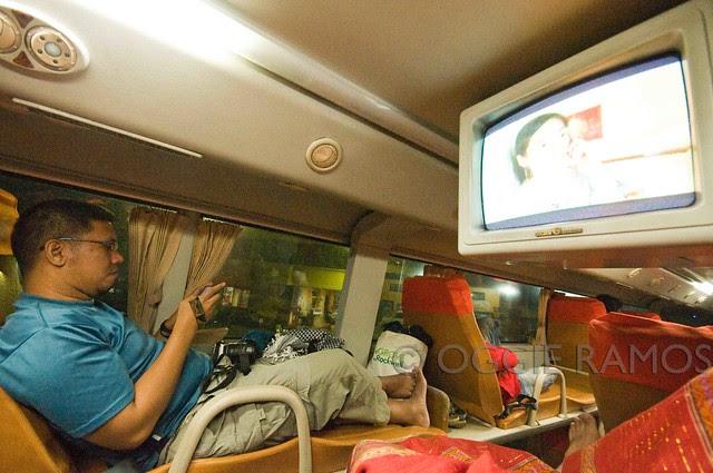 Cagayan - Tuguegarao My Vantage Point inside the Florida Sleeper Bus II