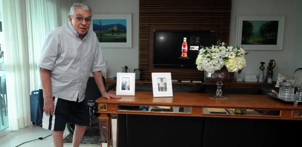 Chico Anysio em seu apartamento no Rio (27/4/2011)