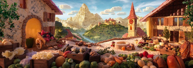 As paisagens com comida de Carl Warner 02