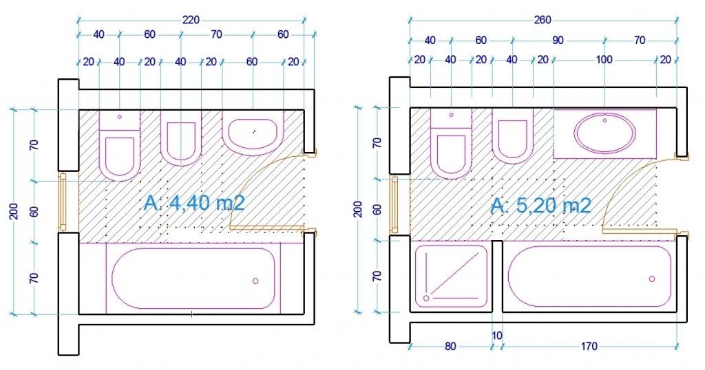 Automobile club agenzia vasca dimensioni minime - Dimensioni minime bagno ...