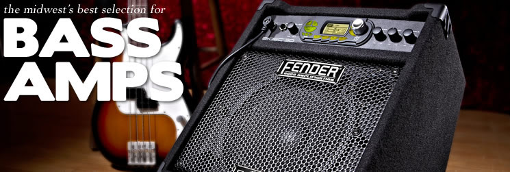 Bass Amps - Amplifiers - Guitars - Jim Laabs Music: The Midwest's ...