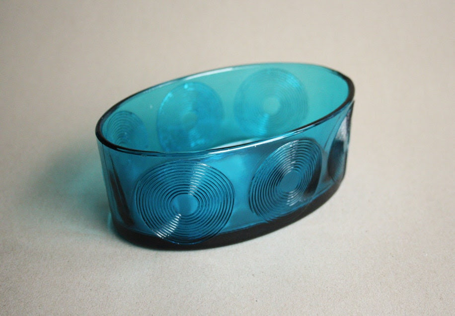 Modernist Glass Bowl - Holmegaard