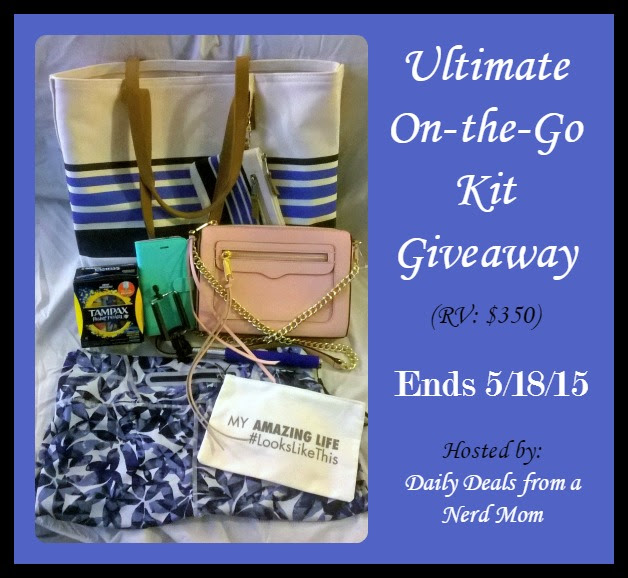 Ultimate On-the-Go Kit Giveaway {ends 5/18/15}