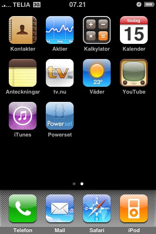 Iphone homepage 2