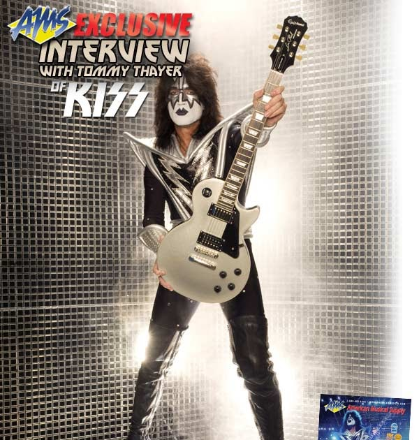 Kiss Tommy Thayer Makeup: KISS MASK: TOMMY THAYER Interview