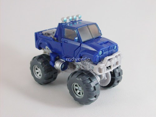 Transformers Autobot Wheelie RotF Deluxe - modo alterno