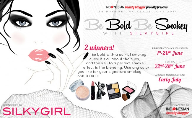 "IBB Make Up Challenge June 2014 - ""Be Bold Be Smokey"" with Silky Girl"