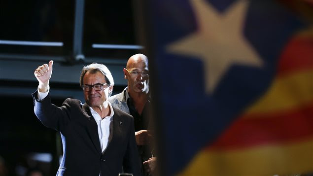 Le chef catalan Artur Mas