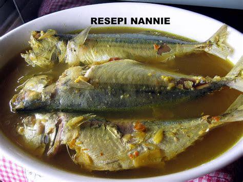 resepi nennie khuzaifah masak pindang ikan kembung