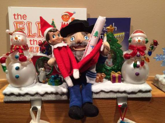 Want To Get Rid Of The Elf On The Shelf Try A Mensch On A Bench