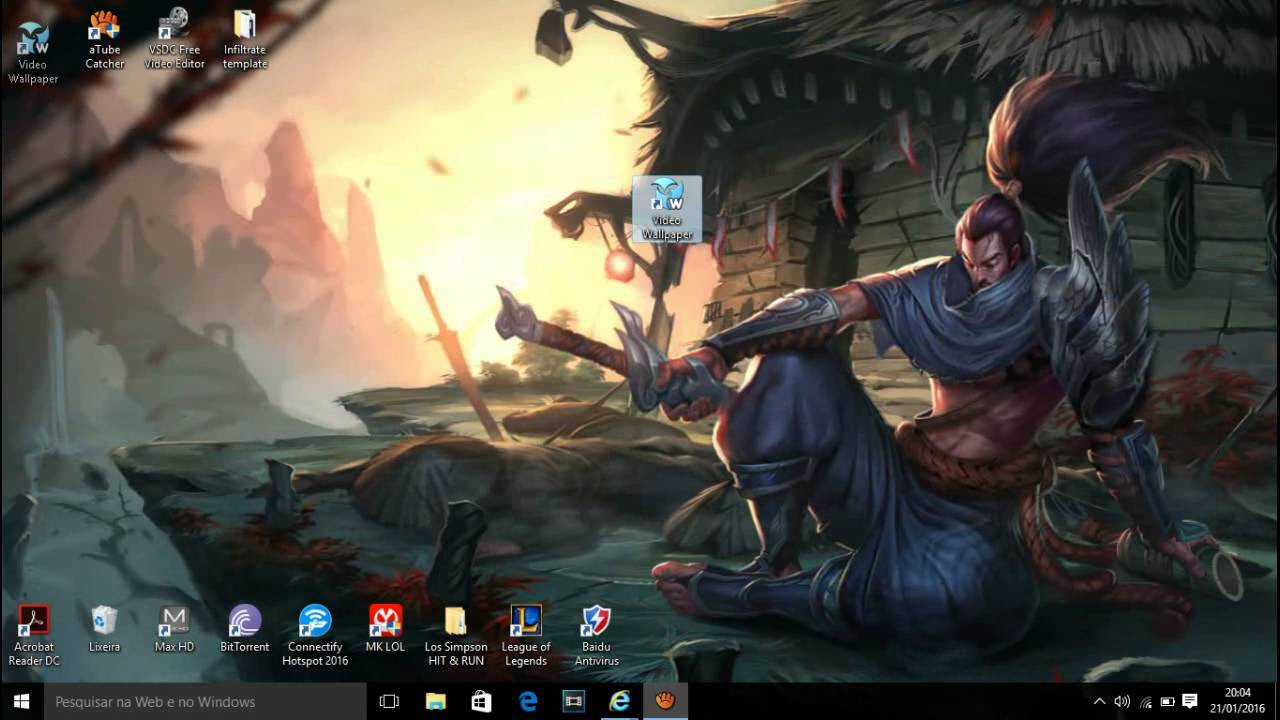 Ekko Wallpaper Lol Hd Html