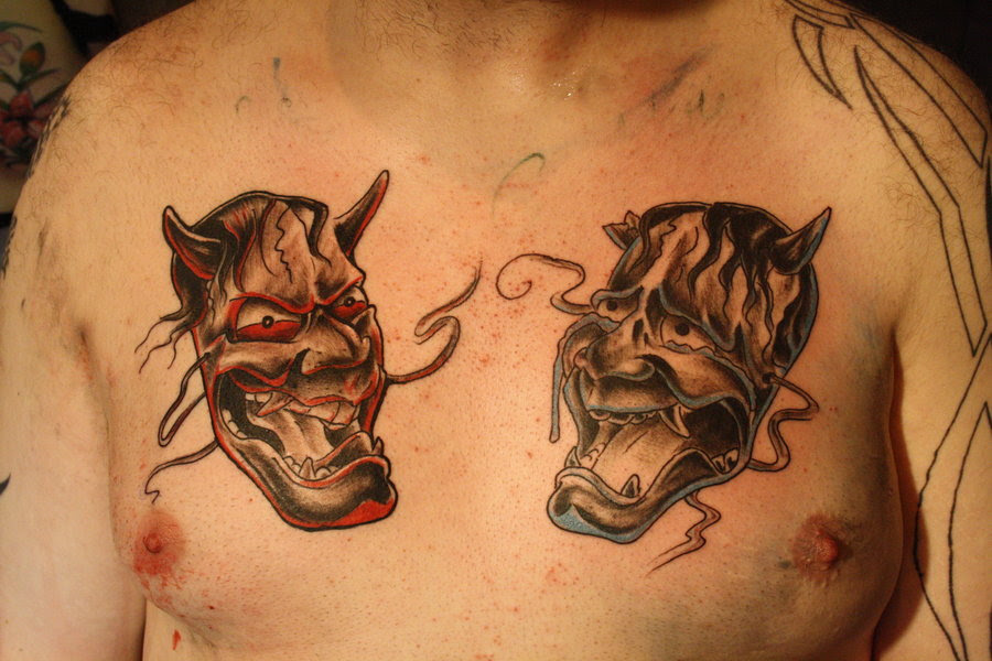 Smile Now Cry Later Mask Tattoo Drawings Photo 3 2017 Real Photo