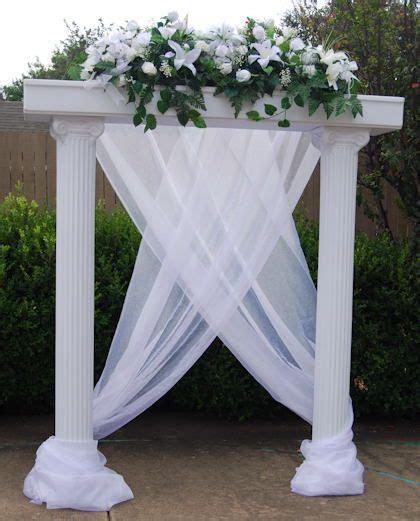 Wedding Column Decorations   Columns For Wedding
