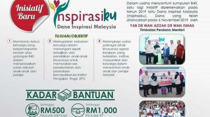 Kisah Kehidupan Bantuan Dana Inspirasi Malaysiaku Inspirasiku Yapeim