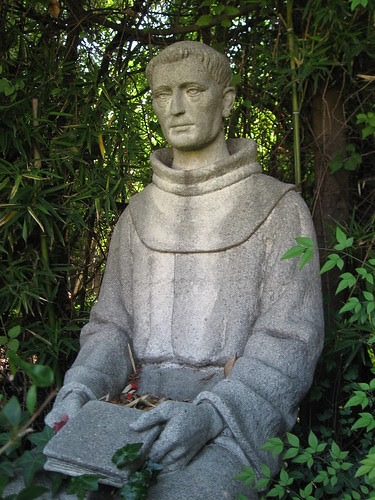 San Fernando Misson - Statue of Fray Fermin Francisco De Lasuen