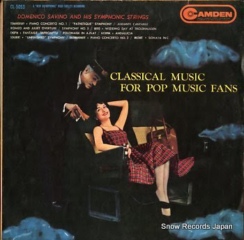 SAVINO, DOMENICO classical music for pop music fans