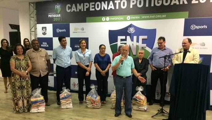 RN - FNF lança marca e plano comercial do Campeonato Potiguar 2017 (Foto: Augusto Gomes/GloboEsporte.com)