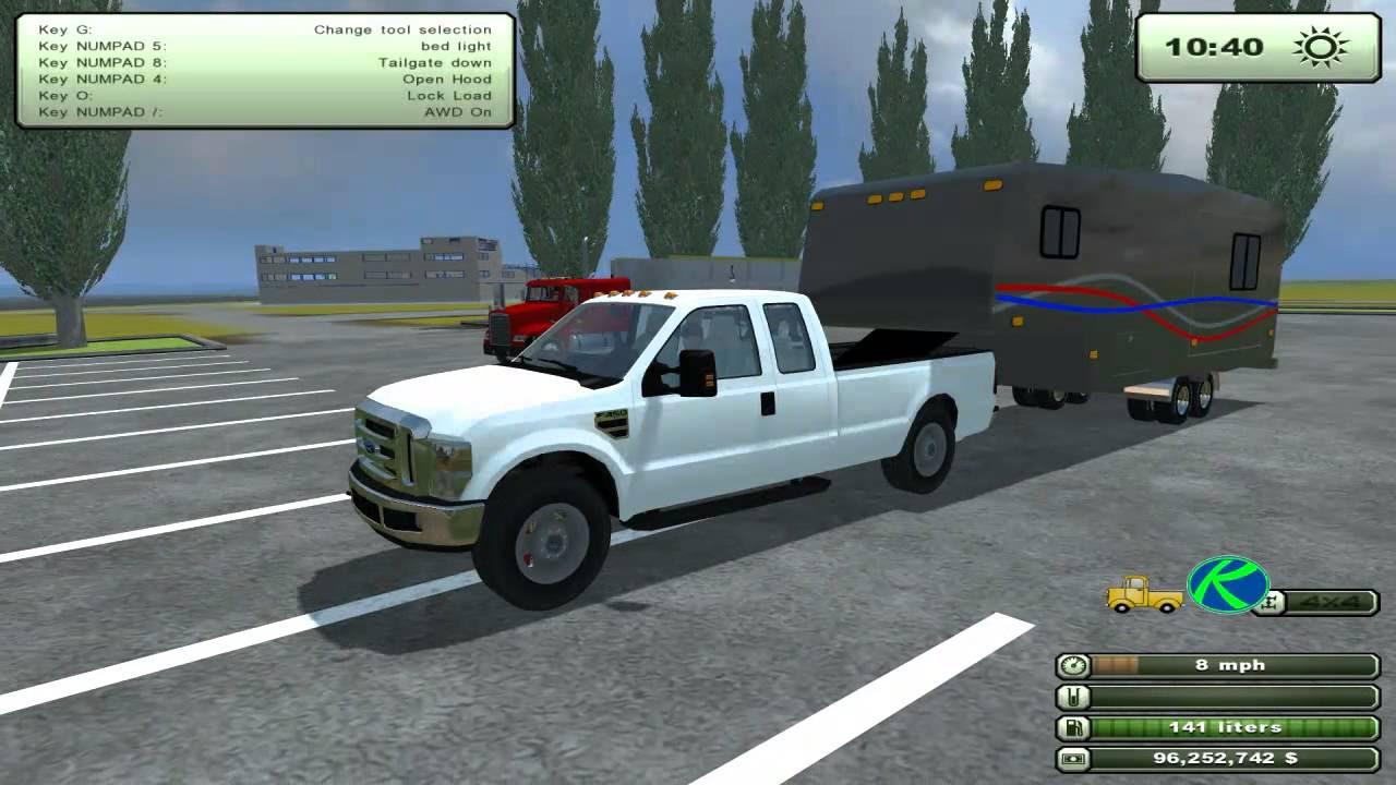 Farming Simulator Th Wheel Camper